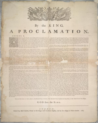Royal proclamation_Library and Archives Canada copy