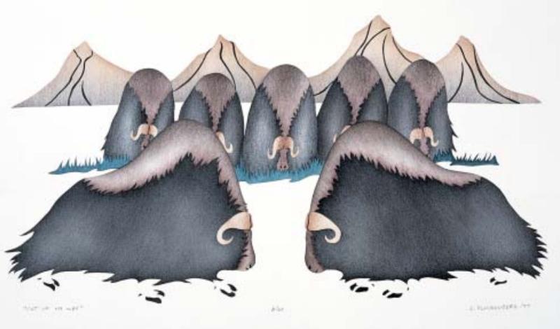 Feb 17 - Out of my Way by Elsie Anaginak Klengenberg